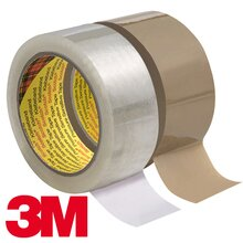 3M Scotch PP 309, Largeur: 50 mm, brun