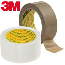 3M Scotch PVC 6890, Largeur: 38 mm, brun